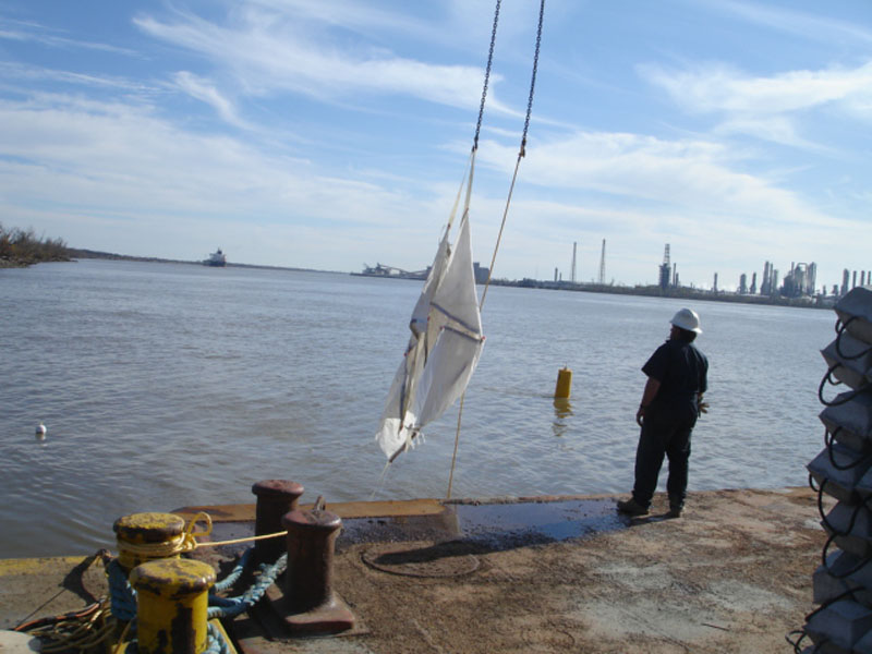 Specialty Diving Lifting 1 SlingBag with a 2 point PU Miss River